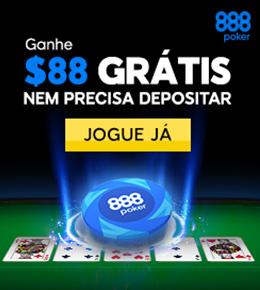 Jogue agora no 888poker. Não precisa depositar!