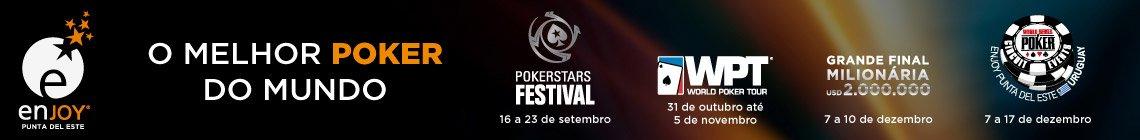 Viva a experiência do Poker no Enjoy Conrad