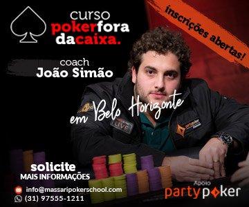 Curso Poker Fora da Caixa em Belo Horizonte - Massari Poker School
