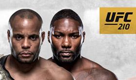 UFC 210 tem revanche pelo cinturão dos meio-pesados/CardPlayer.com.br