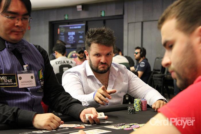 Vitor Dzivielevski  (BSOP Millions) /CardPlayer.com.br