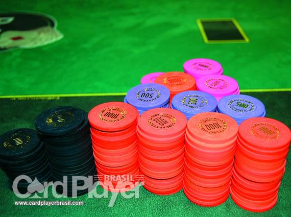 Ficha no pano! (Conrad Poker Tour 2009 - Torneio Milionário) /CardPlayer.com.br
