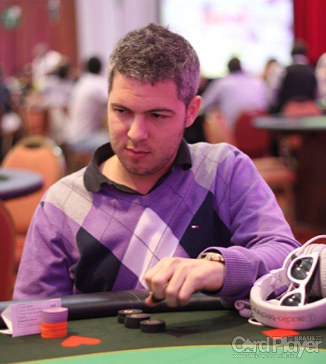 Brian Saslavchik (Gran Final Millonaria do Conrad - Dia 1B) /CardPlayer.com.br