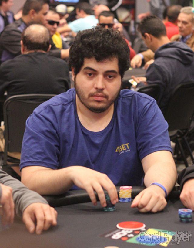 Joseph Santana (100K Turbo do BSOP Millions) /CardPlayer.com.br