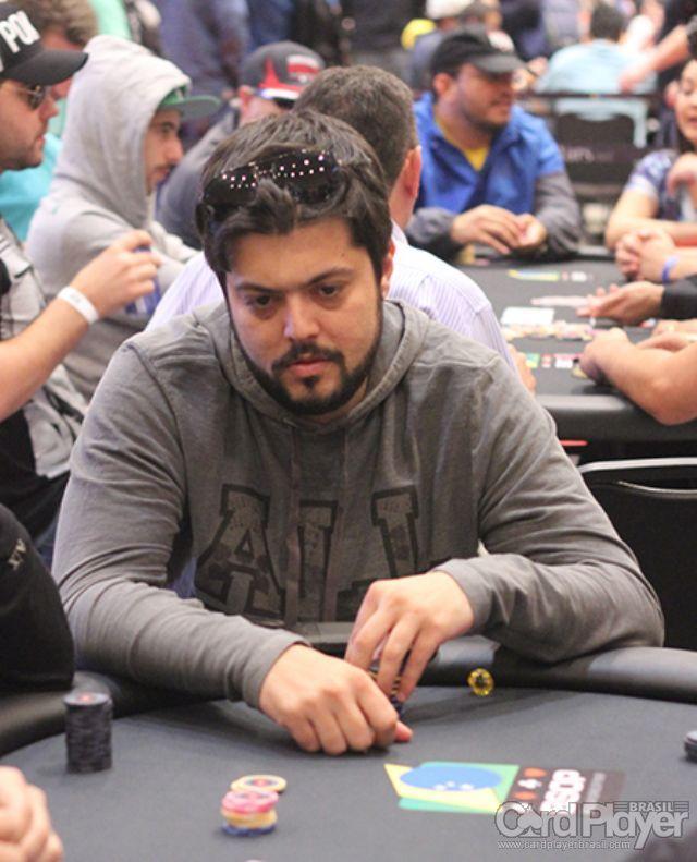 Armando Sbrissa (100K Turbo do BSOP Millions) /CardPlayer.com.br