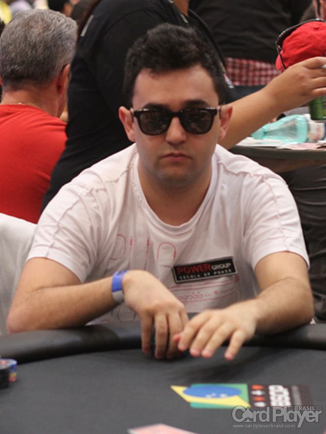 Marcelo Fonseca (100K Turbo do BSOP Millions) /CardPlayer.com.br