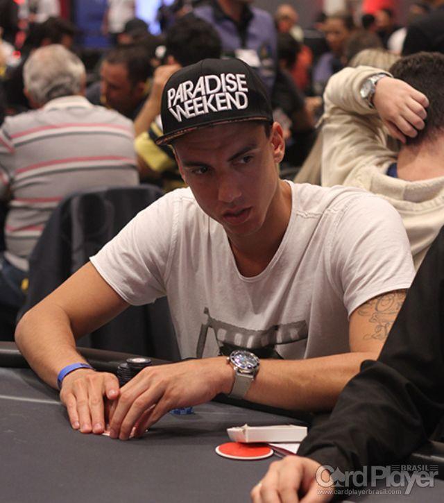Myro Garcia (100K Turbo do BSOP Millions) /CardPlayer.com.br