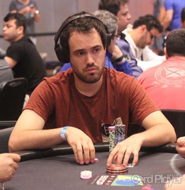 Bernardo Dias (Main Event BSOP Millions Dia 2) /CardPlayer.com.br