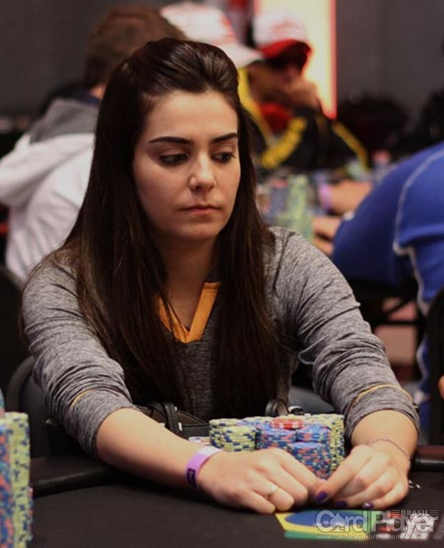 Larissa Metran (Main Event BSOP Millions Dia 3) /CardPlayer.com.br