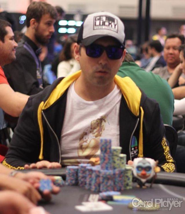 Igor Marani (Main Event BSOP Millions Dia 3) /CardPlayer.com.br