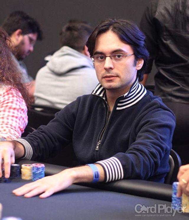 Pedro Correa (Dia 1 do High Roller do BSOP Millions) /CardPlayer.com.br