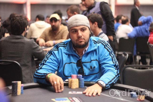 Kaue Moura (Dia 1 do High Roller do BSOP Millions) /CardPlayer.com.br