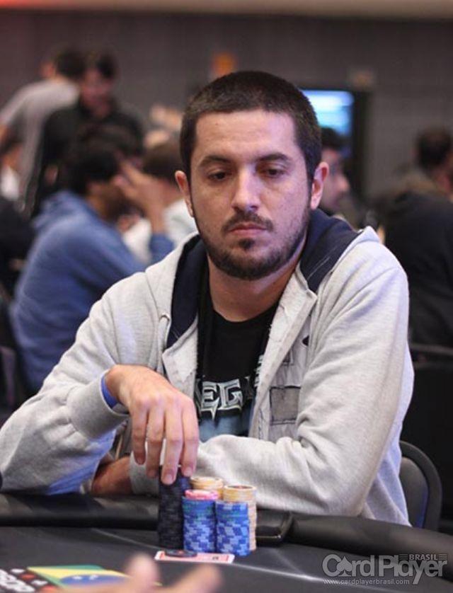 Murilo Figueredo (Dia 1 do High Roller do BSOP Millions) /CardPlayer.com.br