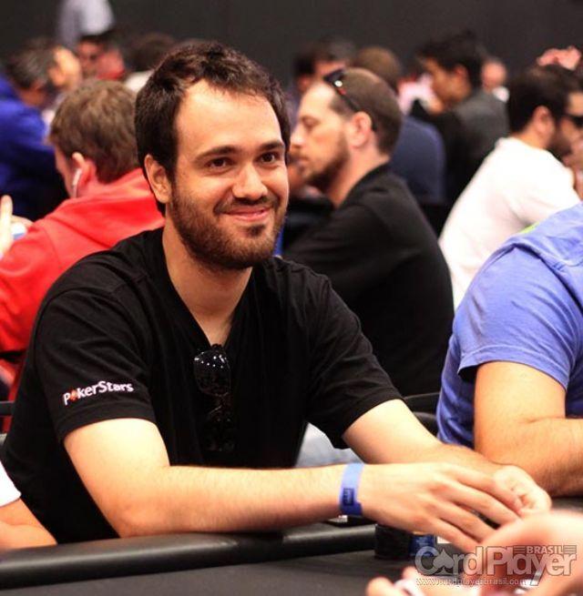 Bernardo Dias (Dia 1 do High Roller do BSOP Millions) /CardPlayer.com.br