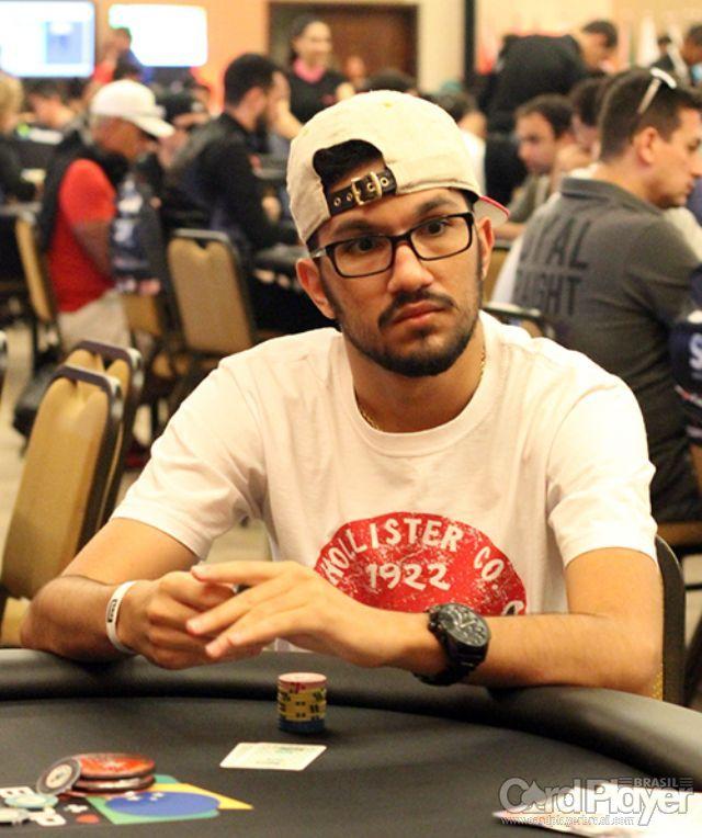 Flávio Abud (Dia 1 do BSOP Brasília) /CardPlayer.com.br