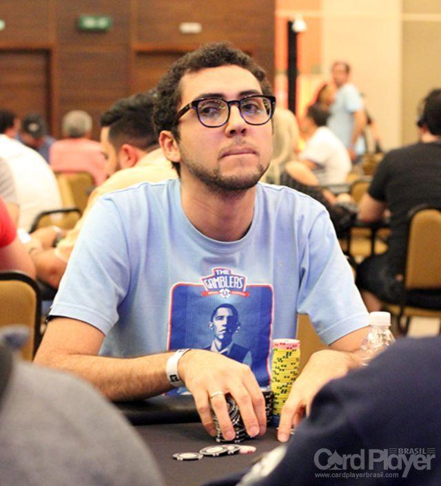 Rafael Moraes (Dia 1 do BSOP Brasília) /CardPlayer.com.br