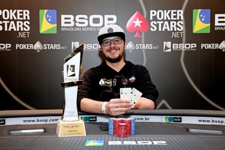 Kelvin Kerber vence o Torneio dos Campeões do BSOP100/CardPlayer.com.br