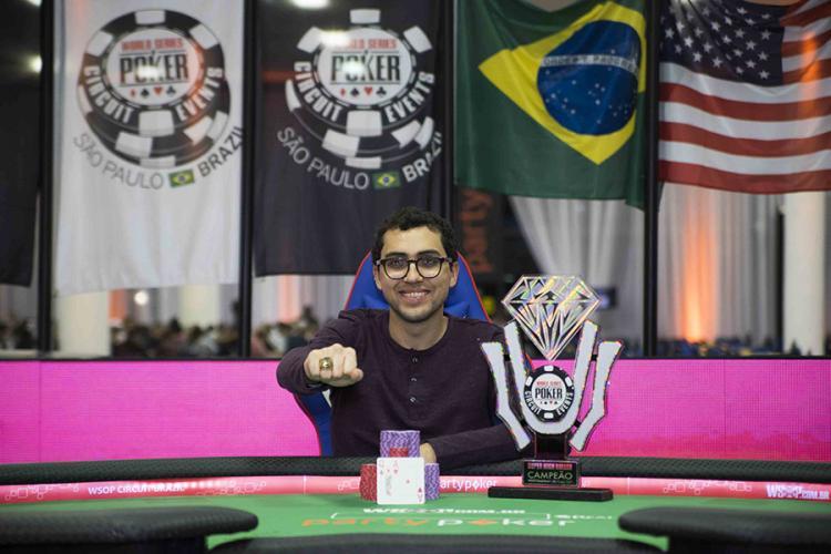 Rafael Moraes vence Super High Roller do WSOP Circuit Brasil/CardPlayer.com.br