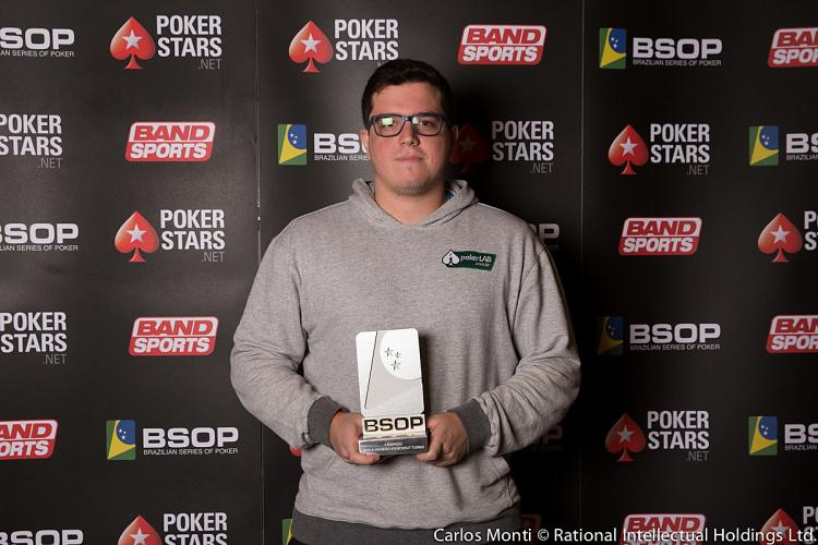 """Brunno """"botteonpoker"""" Botteon leva a melhor no $215 Battle Royale /CardPlayer.com.br"""