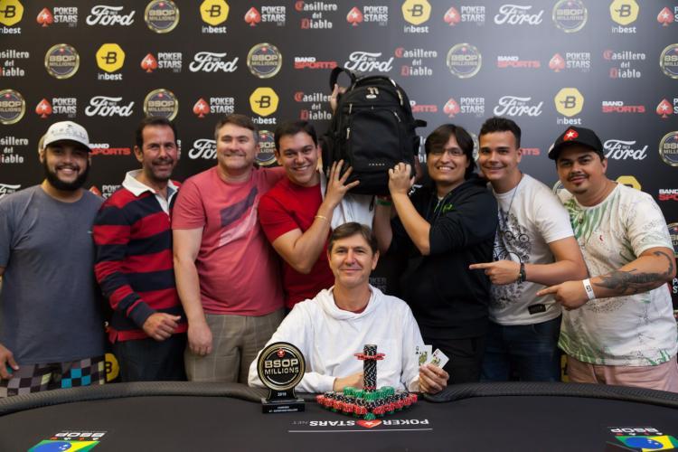 Francisco Neto crava Super High Roller do BSOP Millions e fatura R$ 443 mil/CardPlayer.com.br