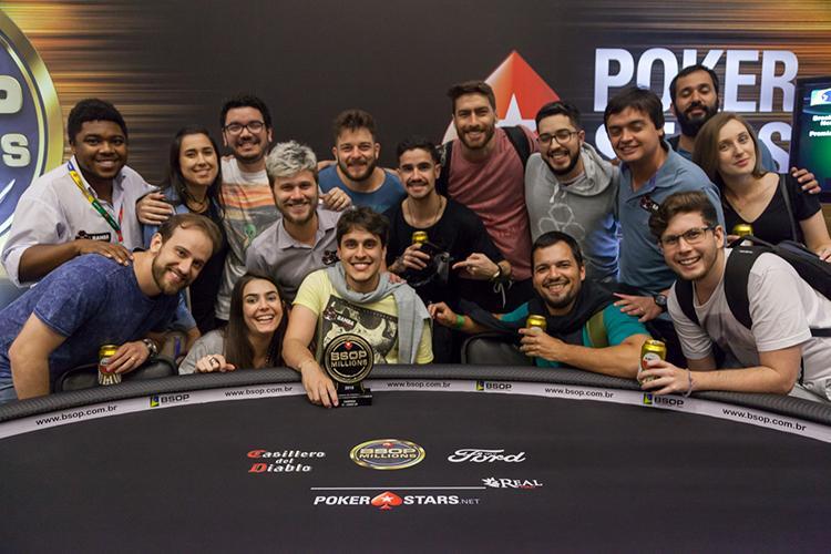 Guilherme Carmo é campeão do Start-Up do BSOP Millions/CardPlayer.com.br
