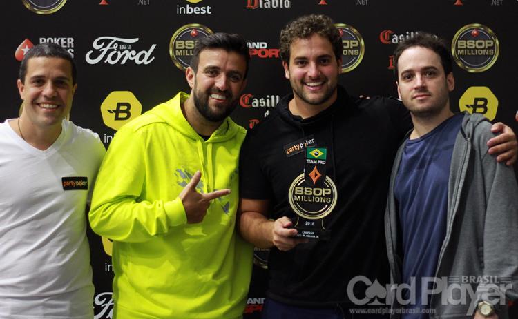 João Simão conquista título do PL Omaha 6-Handed do BSOP Millions/CardPlayer.com.br