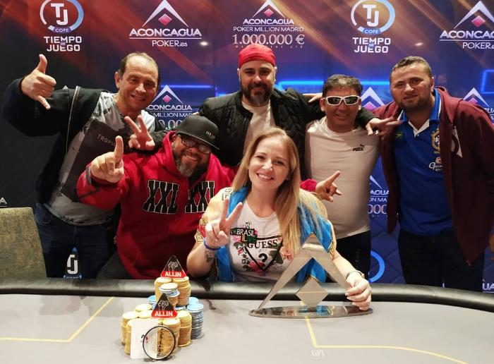 Milena Magrini fatura € 135 mil no Aconcagua Million Madri/CardPlayer.com.br