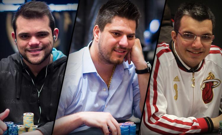 Diego Vilela, Luiz Duarte e Douglas Ferreira avançam no PSC Monte Carlo/CardPlayer.com.br