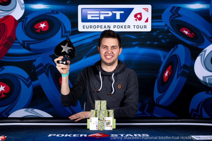 Matthias Eibinger crava 50K Single Day High Roller do EPT Monte Carlo/CardPlayer.com.br