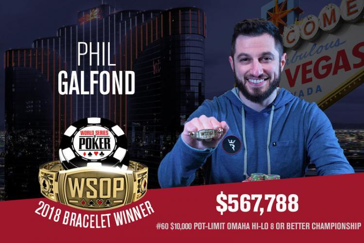 Phil Galfond conquista o tricampeonato na WSOP/CardPlayer.com.br
