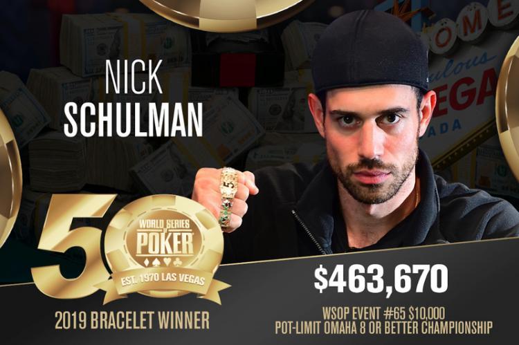 Nick Shulman leva a melhor no Evento 65 da WSOP/CardPlayer.com.br