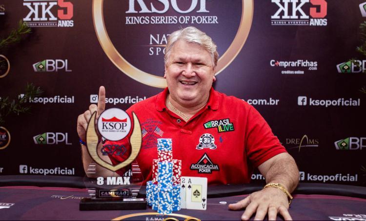 Marcos Ávila conquista o título do Evento 7 do KSOP Special/CardPlayer.com.br