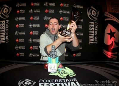 Gary McGinty leva a melhor no PokerStars Festival Dublin/CardPlayer.com.br
