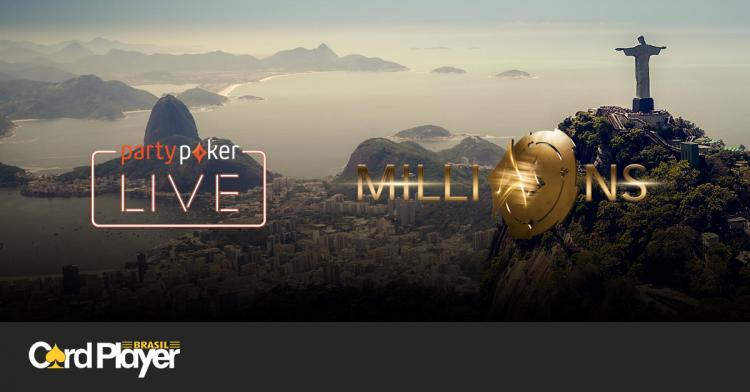 Confira o cronograma da etapa brasileira do partypoker LIVE MILLIONS/CardPlayer.com.br