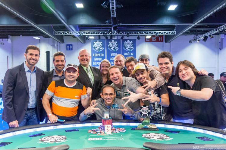 Oderlândio Moura vence o Main Event do WSOP Circuit Brasil/CardPlayer.com.br