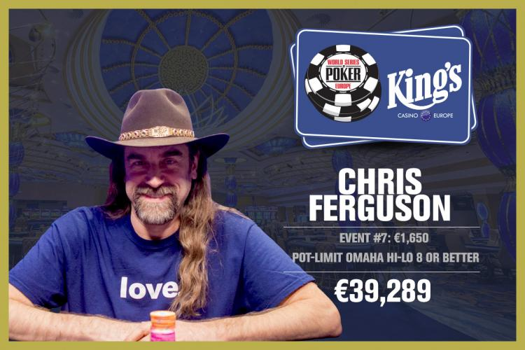 Chris Ferguson é campeão do Evento 7 da WSOP Europa/CardPlayer.com.br