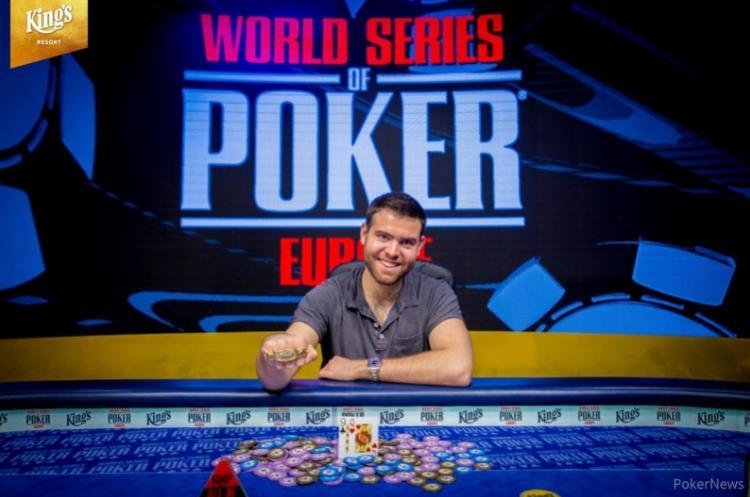 Jack Sinclair é campeão do Main Event da WSOP Europa/CardPlayer.com.br