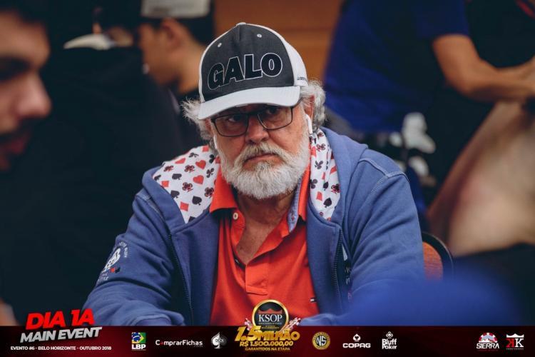 Nélio Brant larga na frente no KSOP Belo Horizonte/CardPlayer.com.br