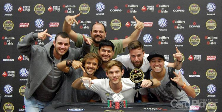 Alisson Piekazewicz conquista o título do Super High Roller do BSOP Millions/CardPlayer.com.br