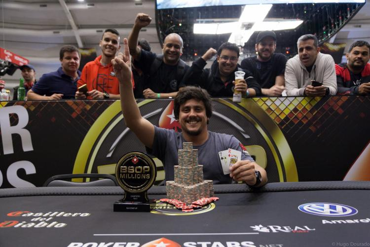 "Felipe ""subiremos."" Koury conquista o bicampeonato do 4Bet no Start-Up do BSOP Millions/CardPlayer.com.br"