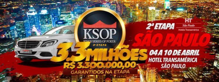 KSOP São Paulo começa nesta quarta-feira. Confira o cronograma/CardPlayer.com.br