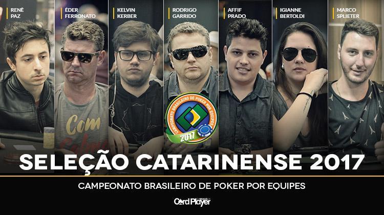 Santa Catarina divulga convocação para o Campeonato Brasileiro por Equipes/CardPlayer.com.br