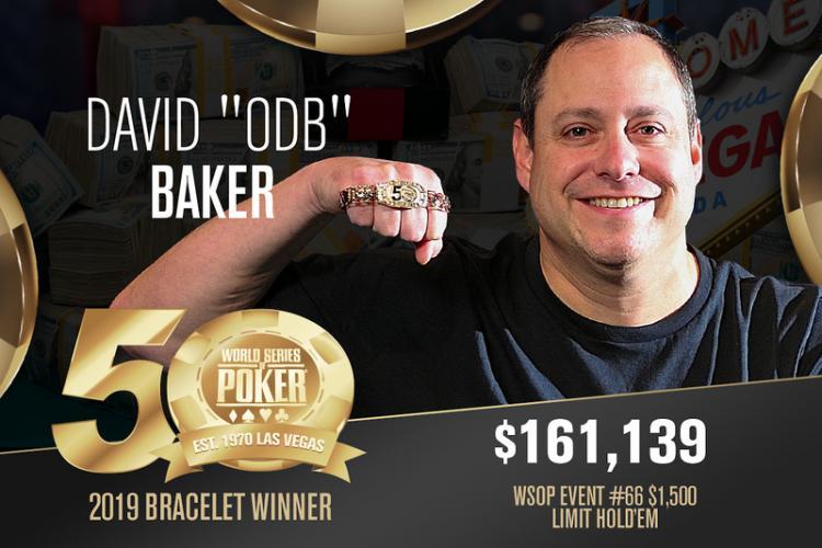 "David ""ODB"" Baker volta a vencer na WSOP/CardPlayer.com.br"