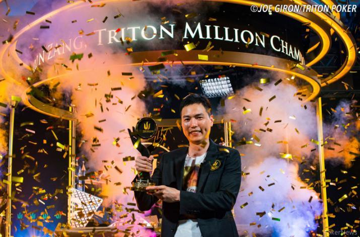 Recreativo Aaron Zang é campeão do Triton Million  /CardPlayer.com.br