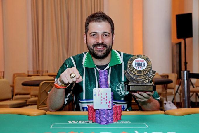 """""""Salsicha"""" conquista o título do High Roller do WSOP Circuit Brasil/CardPlayer.com.br"""