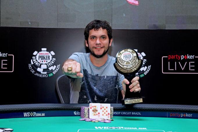 Jordan Piva crava WSOP Circuit Brasil e fatura R$ 1 milhão/CardPlayer.com.br