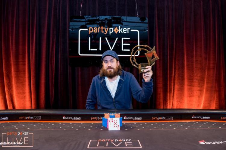 Steve O'Dwyer vence Super High Roller do partypoker LIVE MILLIONS Reino Unido/CardPlayer.com.br