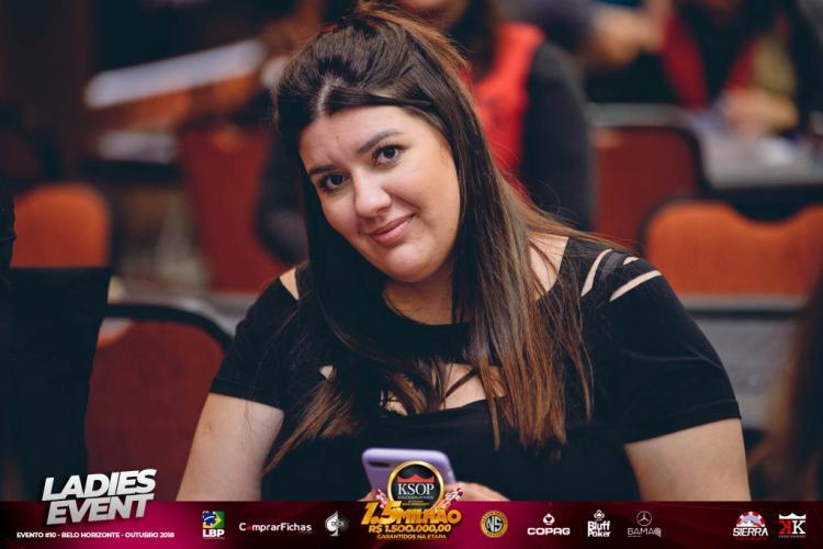 Luísa Borges ganha o ranking do Ladies no KSOP 2018/CardPlayer.com.br