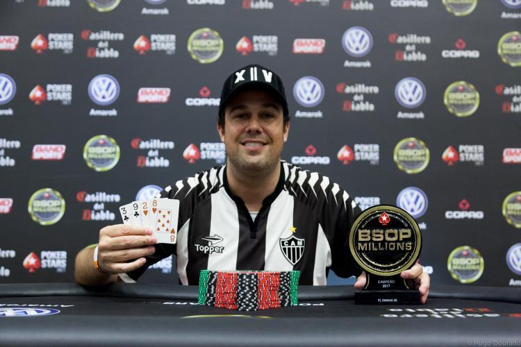 Israel Lopes vence o 5K PL Omaha do BSOP Millions/CardPlayer.com.br