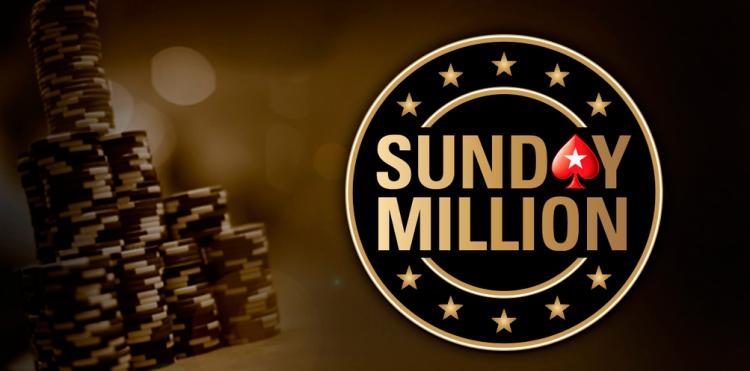 PokerStars registra overlay de US$ 1,2 milhão no Sunday Million de Aniversário/CardPlayer.com.br